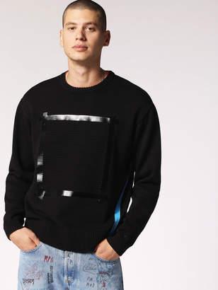 Diesel Sweaters 0GASK - Black - L