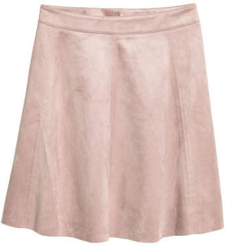 H&M Knee-length Skirt - Brown