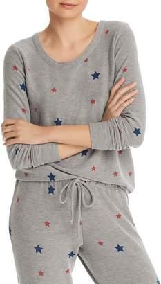 Chaser Star Print Sweatshirt