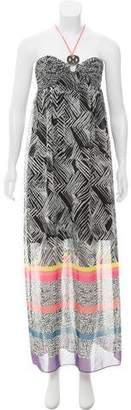 Trina Turk Printed Maxi Dress w/ Tags