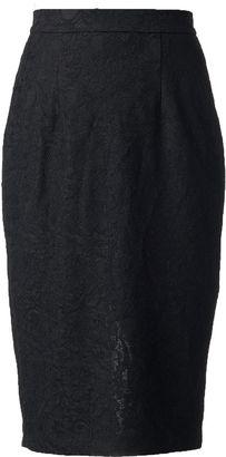 Women's Jennifer Lopez Lace Pencil Skirt $44 thestylecure.com