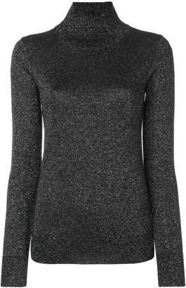 Joseph lurex high neck sweater