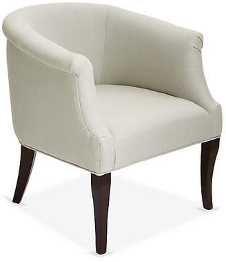 One Kings Lane Selby Club Chair - Sea Glass Linen