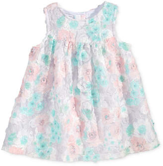 First Impressions Empire-Waist Rosette Dress, Baby Girls (0-24 months), Only at Macy's $42 thestylecure.com