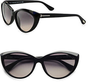 Tom Ford Eyewear Martina Classic Cat's-Eye Sunglasses