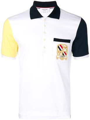 Thom Browne Cotton Jersey Pocket Polo