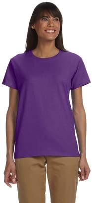 Gildan Ladies Ultra Cotton 100% Cotton T-Shirt, Medium, Heliconia