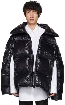 Calvin Klein Black Down Oversized Jacket
