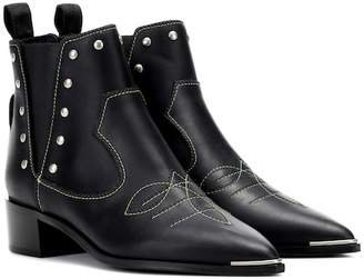 Acne Studios Jexy studded leather ankle boots