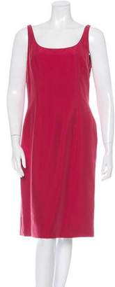 Giorgio Armani Sleeveless Midi Dress