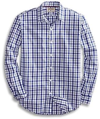 Goodthreads Mens Standard-Fit Long-Sleeve Checked Shirt