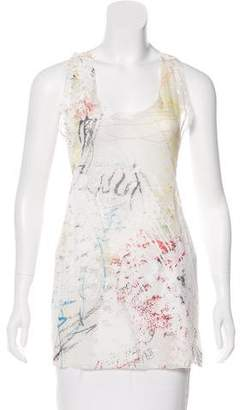 Alexander Wang Sleeveless Printed Top