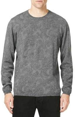 Etro Paisley Wool Sweater