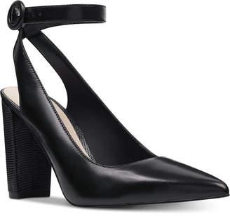 4111bb2da9d Nine West Mokosk Ankle-Strap Pumps Women Shoes