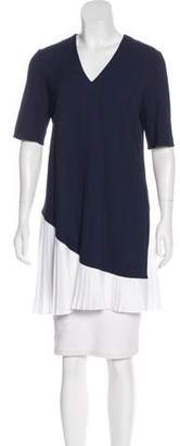 Tanya Taylor Pleated Tunic Top