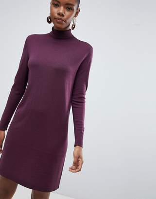 Selected Meroni Roll Neck Wool Jumper Dress