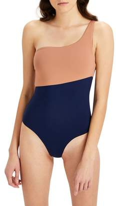 Onia Sienna One-Shoulder Swimsuit