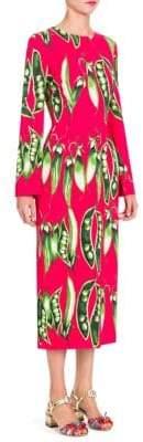 Dolce & Gabbana Peapod-Print Dress
