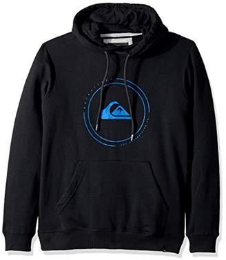 Quiksilver Men's Big Logo Hoody Pullover Sweatshirt