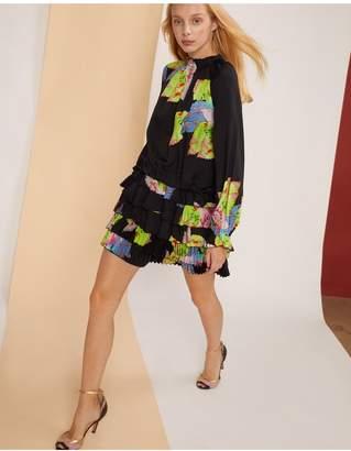 Cynthia Rowley Amalfi Floral Leaf Mini Dress