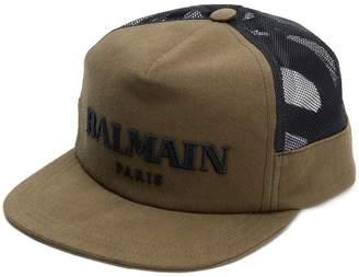 Balmain embroidered logo baseball cap