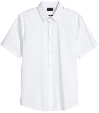 H&M Slim Fit Stretch Shirt - White