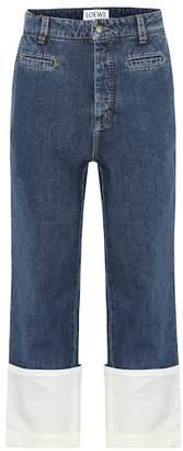 Fisherman straight-leg jeans