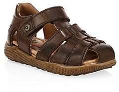 Naturino Little Boy's & Boy's Gene Fisherman Leather Sandals