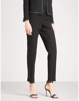St. John Bella skinny mid-rise woven trousers