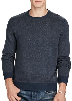 Polo Ralph Lauren Merino Wool Crewneck Sweater $185 thestylecure.com