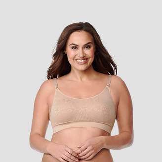 Warner's Simply Perfect by Women's Full Figure Seamless Wirefree Comfort Band Contour Bra