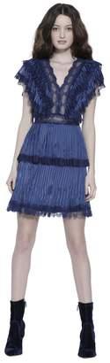 Alice + Olivia Lanora Pleated Cocktail Dress