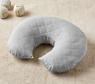 Pottery Barn Kids Gray Linen Boppy® Nursing & Infant Support Pillow Slipcover Only
