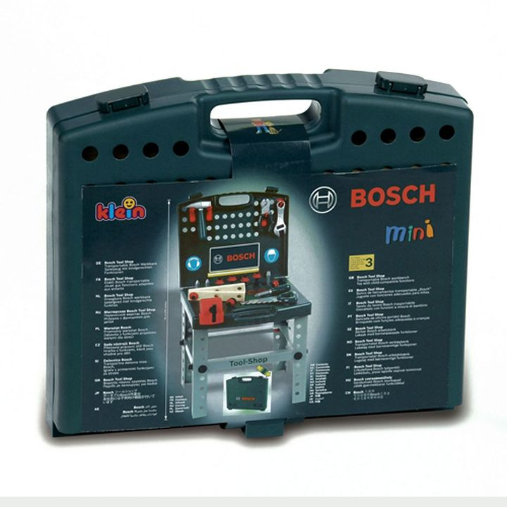 Theo Klein Bosch Tool Shop with Ixolino by