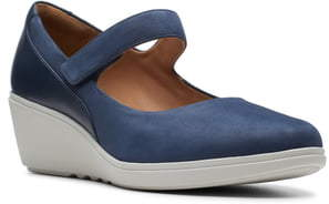 Clarks Tallara Ivy Wedge Mary Jane
