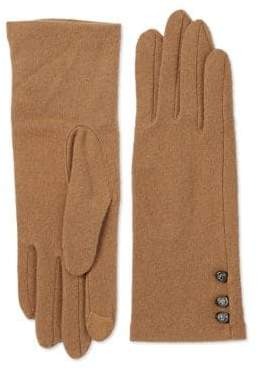Lauren Ralph Lauren Three-Button Touch Classic Gloves