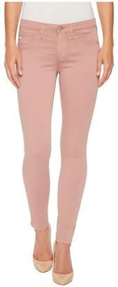 AG Adriano Goldschmied Sateen Leggings Ankle in Misty Mauve Women's Jeans