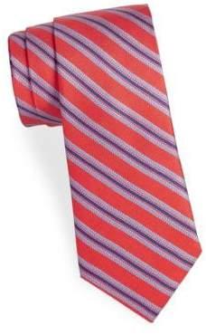 Saks Fifth Avenue Striped Cotton Tie