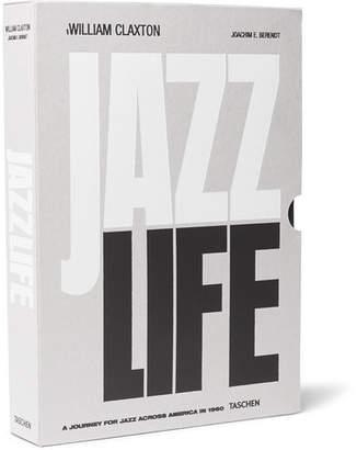 Taschen Jazzlife Hardcover Book