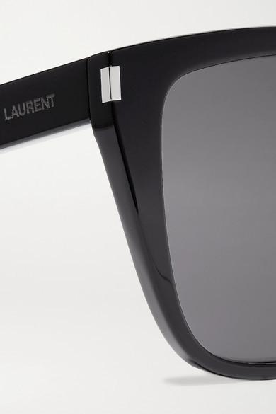 Saint Laurent - D-frame Acetate Sunglasses - Black 2
