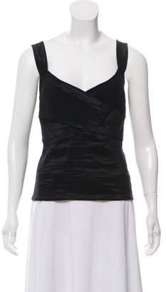 Donna Karan Cross Front Sleeveless Top w/ Tags