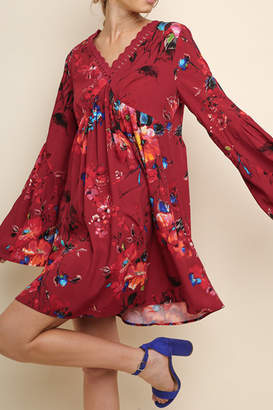 Umgee USA Watercolor Wonder dress