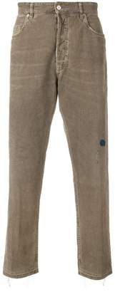 Golden Goose distressed corduroy trousers