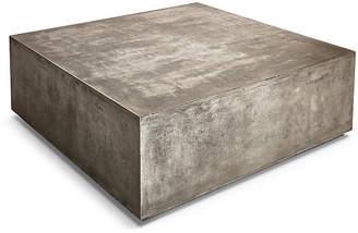 """One Kings Lane Block 47"""" Coffee Table - Gray Concrete"""