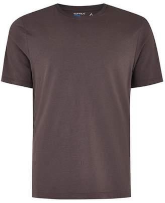 Topman Mens Purple Slim T-Shirt