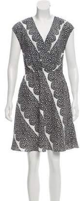 Yoana Baraschi Printed Knee-Length Dress