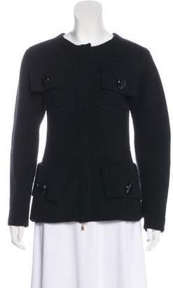 Louis Vuitton Wool-Blend Lightweight Jacket