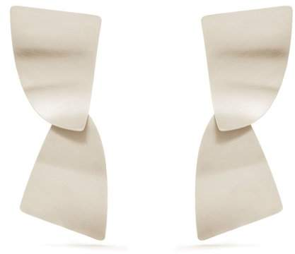 FAY ANDRADA Susea sterling-silver curved earrings
