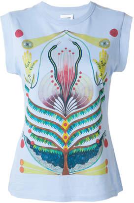 Chloé graphic print sleeveless T-shirt