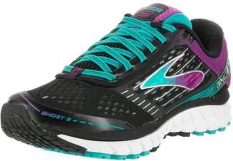 Brooks Women's Ghost 9 Running Shoe (BRK-120225 1B 3692230 6 BLU/PUR/WHT)